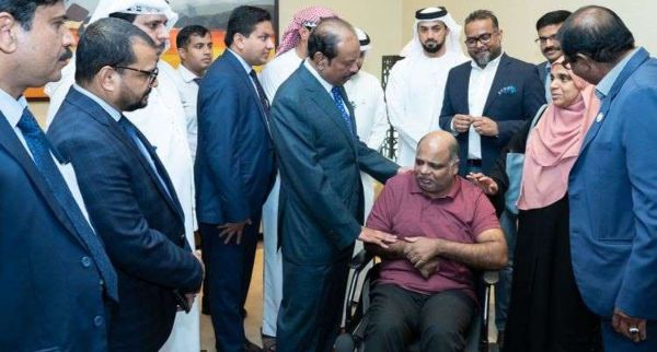 Lulu chairman Yusuffali repays Dh400,000 debts of a paralysed man